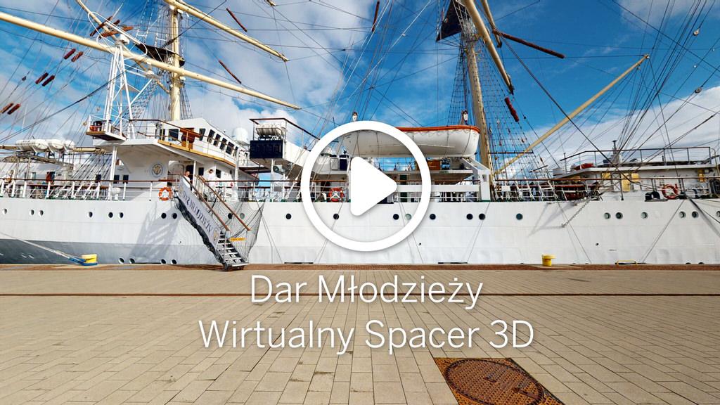 Wirtualny spacer 3D - Dar Młodzieży